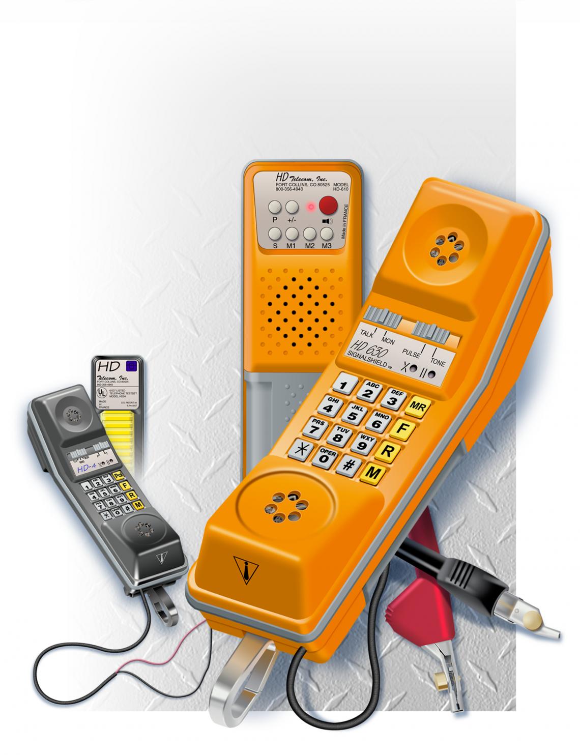 Telecom Handheld Test Equipment – product illustration