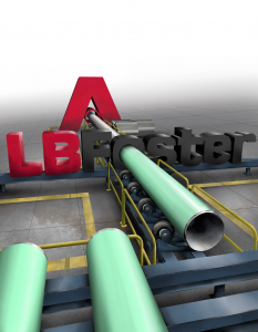 Steel Pipe Manufacturing Branding Image
