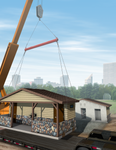 Precast Concrete Building illustration