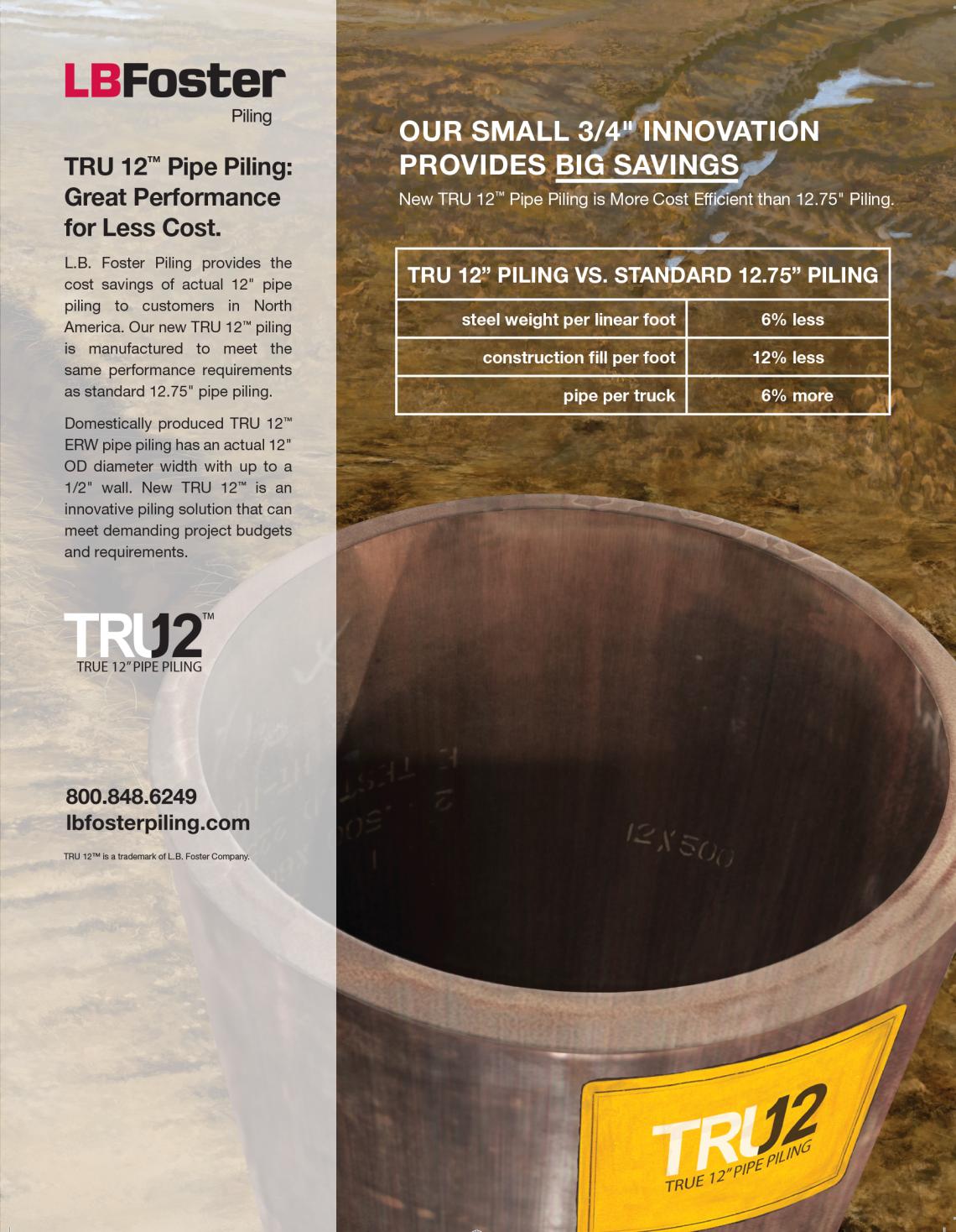 Pipe Pile Magazine Ad