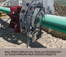 Pipeline Field Joint Coating Illustration