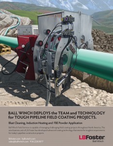 Pipeline Field Joint Coating Illustration