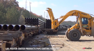 Pipe Coating Facility plant tour video