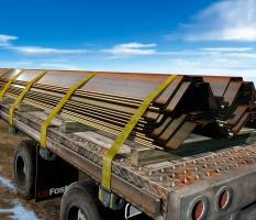 PZC Sheet Piling On Truck Trailer