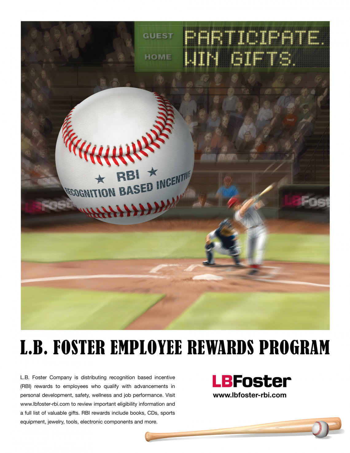 Corporate Employee Recognition Program Poster