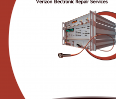 Verizon Telecom Equipment Repair – brochure cover