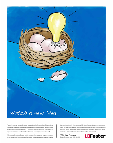 Hatch a New Idea – illustration