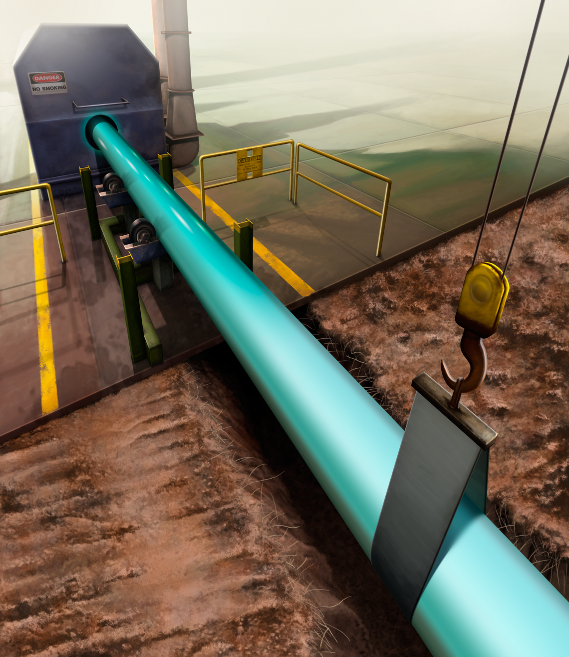 Pipeline Coating Illustration