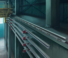 Warehouse Overhead Crane Electric Rail