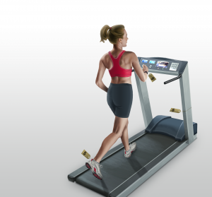 original illustration, Ninetimes, illustration, L.B. Foster, LB Foster, corporate newsletter, fitness image