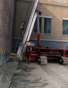 Casagrande Hydraulic Crawler Drill – illustration