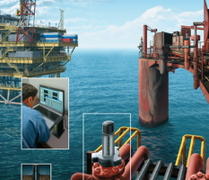 Offshore Oil Platform illustration