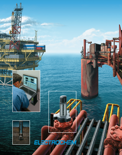 Offshore Oil Platform illustration