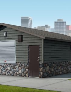 Precast Concrete Concession Building