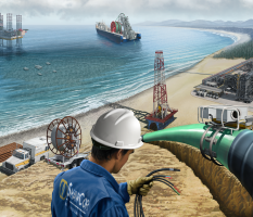 Energy Pipeline Services – illustration