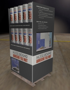 MusselBound Home Improvement Product Display