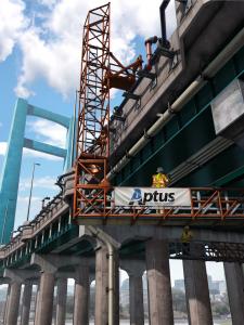 Aptus Ninetimes bridge utilities construction exhibit pipelines conduit illustration construction