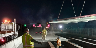 Ninetimes Creates Bridge Decking Retrofit Illustration for L.B. Foster