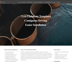 Piling Construction Website