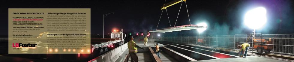 Ninetimes Creates Bridge Decking Retrofit Illustration for L.B. Foster