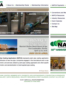 pipe coating applicators association website