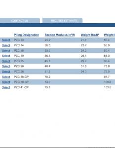 Online Sheet Piling Calculator