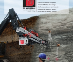 Soil Nailing Equipment Illustrated Ad