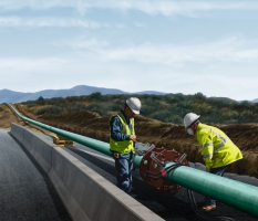 Pipeline Joint Coating Illustration