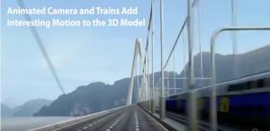 Third Bosphorus Bridge Animation