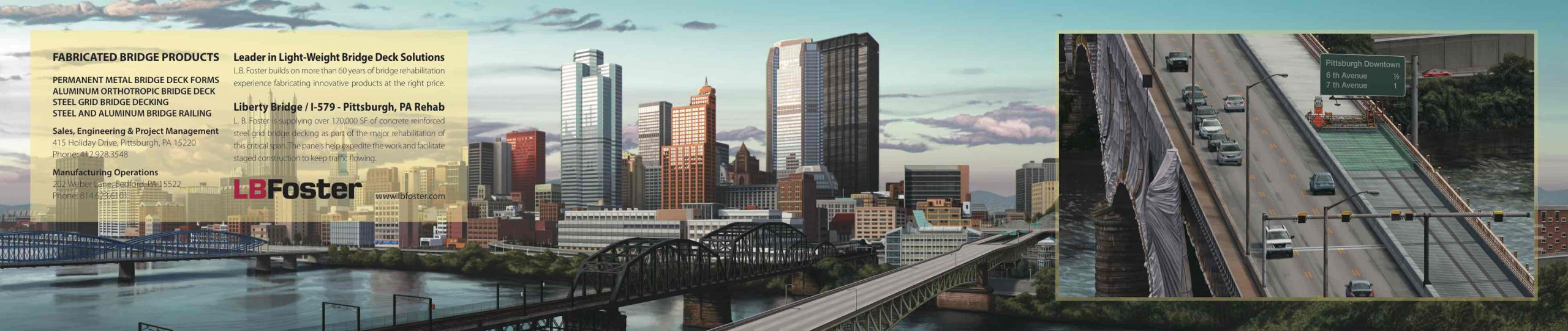 Bridge Construction Illustration, Ninetimes, Liberty Bridge, Pittsburgh Bridge, Steel Grid Deck, Bridge Decking, Concrete Reinforced Deck Panel
