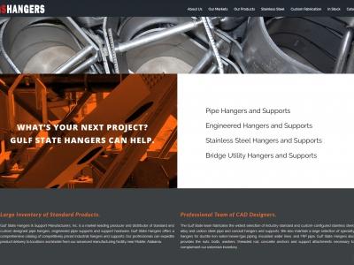 Ninetimes Develops Gulf State Hangers Website