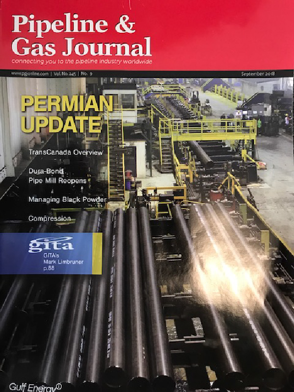 Ninetimes Creates Dura-Bond Article for Pipeline & Gas Journal