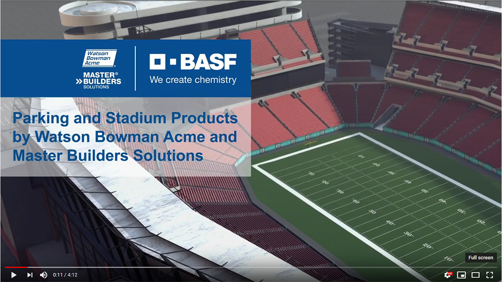 BASF, Ninetimes, Watson Bowman, Master Builders Solutions, Stadium, Parking, 3D, Animated Video
