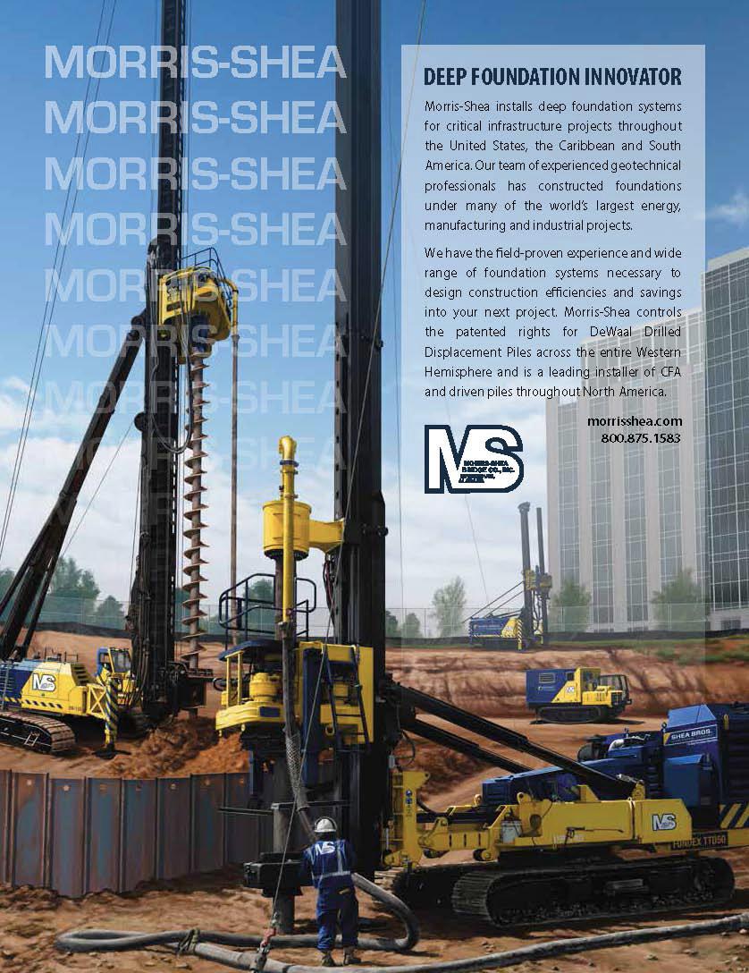 deep foundation, Ninetimes, Morris-Shea, Fundex drill rig, DeWaal pile, DDP, CFA, sheet piling, Ninetimes, CIDh