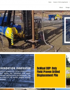 Ninetimes Develops New Deep Foundation Installation Website