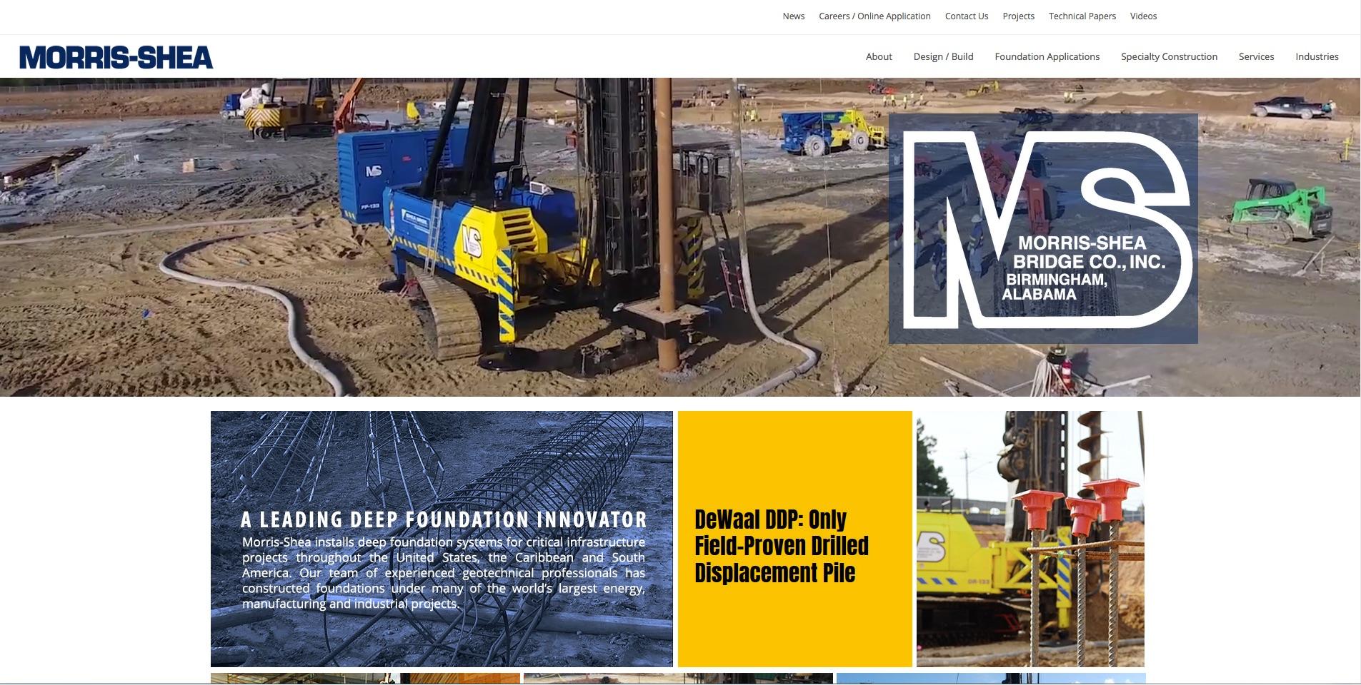 Deep Foundation Webite Homepage Banner